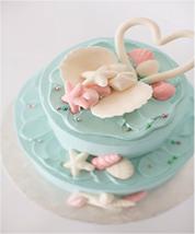 オーシャン2段ケーキ ブルー(約20名様分)