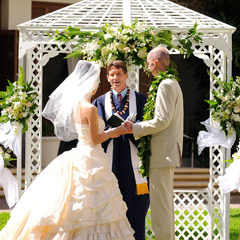HALEKULANI COURTYARD WEDDING
