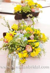 パーティー用テーブル装花