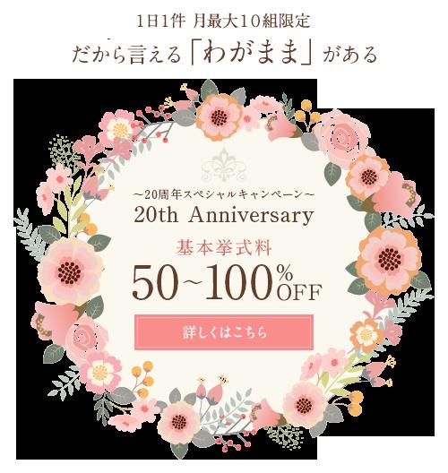 20th Anniversary Campaign